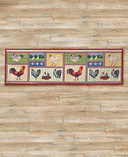 Rooster Runner Rug Country Runner Rugs Ebay