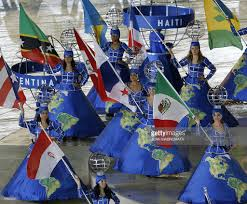 Pan American Flag Xv Pan American Games Closing Ceremonies Photos And Images Getty