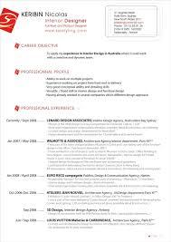 Interior Design Resume Examples by Interior Design Resume Sample Monstercom