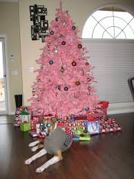 small pink christmas tree pretty in pink christmas tree treetopia