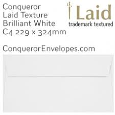 Pocket Envelopes Conqueror Envelopes C4 324x229mm
