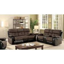 Cloth Reclining Sofa Furniture Of America Sofas Couches For Less Overstock