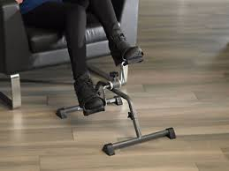 under desk exercise peddler mini pedal exerciser under desk floor cycle cardio peddler bike