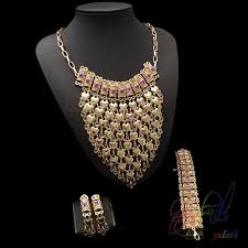 indian jewelry necklace sets images Big african jewelry sets small pearl jewelry necklace set gold jpg
