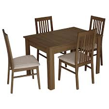 salou small extending dining table with 4 chairs u2013 next day