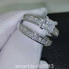 what is a bridal set ring best 25 princess cut wedding sets ideas on princess