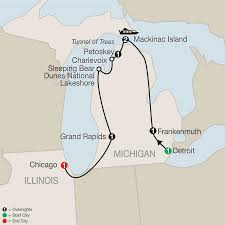 Map Of Michigan And Canada by Globus Tours 2018 Globus Usa And Canada Tours Tours Safe