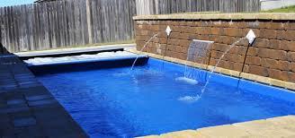 southeastern backyard palladium plunge fiberglass pool