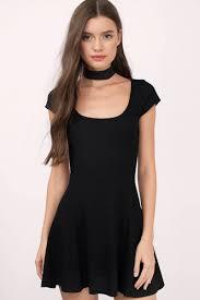 black skater dress black dress sleeve dress black flare dress skater