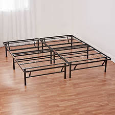 Metal Bed Frames Queen Metal Bed Frame Ebay