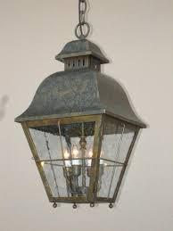 Galvanized Pendant Light Exterior Pendant Light Extra Large Outdoor Pendant Lighting
