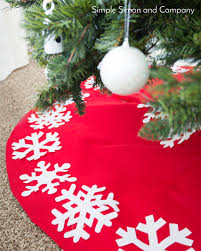 no sew tree skirt tutorial simple simon and company