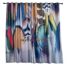 Colorful Patterned Curtains Colorful Patterned Room Darkening Cool Curtains Buy Colorful