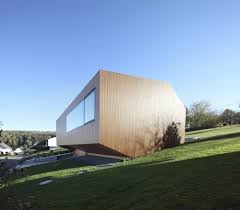 energy house contemporary approach minimalist house with unusual shape in