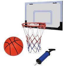 mini panier de basket chambre vidaxl mini panier basket avec ballon et pompe