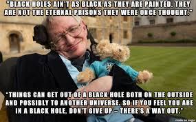 Stephen Hawking Meme - stephen hawking on depressions meme on imgur