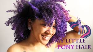 natural colored hair my little pony twilight sparkle hair