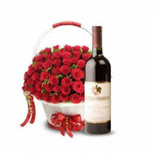 sending wine as a gift wine combo gifts flower with wine flowers with wine and cake