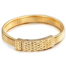 bracelet gold man stainless steel images Fashion square buckle cuff bracelet gold bangle stainless steel jpg