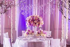 purple wedding decorations fascinare wedding decor flowers planning planning los