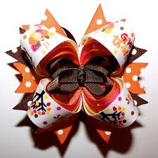 thanksgiving hair bows 613 best y p bowtique images on hairbows crowns and