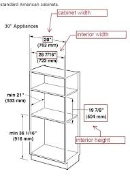 wall oven cabinet width standard oven width oven cabinet dimensions base oven cabinets