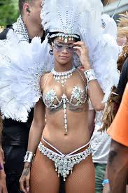 carnival costumes revealed rihanna s raunchiest carnival costumes the sun