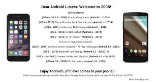 why are iphones better than androids 蘋果粉絲回擊android 歡迎來到2008 年 technews 科技新報