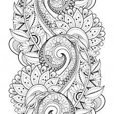 Advanced Flower Coloring Pages 3 Kidspressmagazine Com Mandala Flowers Coloring Pages