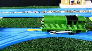 Tidmouth Sheds Trackmaster Ebay by Trackmaster Green Salty 2012 Review And First Run Youtube