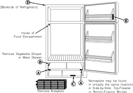 wiring diagram for refrigerator wiring diagram and schematic design