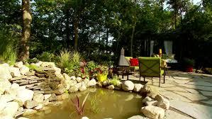 build a backyard water feature video hgtv