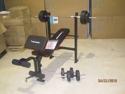 Weights And Bench Package Maximuscle Bench And Weights Package In Blaydon On Tyne Tyne