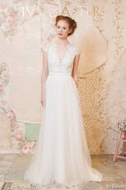 lace top wedding dress aster 2016 wedding dresses through the flowers