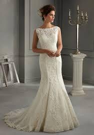 wedding dress design 5262 morilee bridal patterned embroidery design on net satin