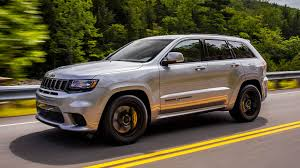 jeep grand cherokee all black 2018 jeep grand cherokee trackhawk first drive hellcat all the things