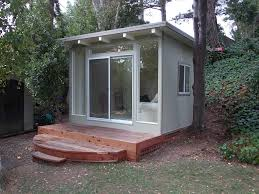 Backyard Cottage Ideas 9 Sources For Midcentury Modern Sheds Prefab Diy Kits And