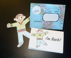 templates for a flat stanley mailing kit u2013 bookmaking with kids