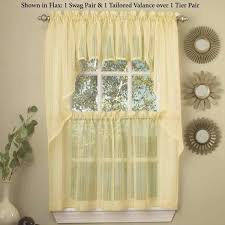 Yellow Kitchen Curtains Valances Yellow And Kitchen Curtains Colorful Wallpaper Kitchen Modern