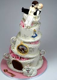 pink cake land cakes alice in wonderland u0026 the wizard of oz