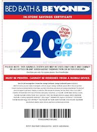 Bed Bath Beyond Bed Bath And Beyond Coupon 20 Percent Discount Bed Bath Beyond