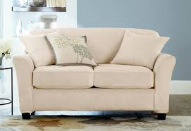 reclining sofa slipcover sure fit pattern double ivory heavy suede