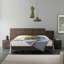 Rossetto Bedroom Furniture Rossetto Air Platform Bed 3 Bedroom Set In Warm Oak Air Qs