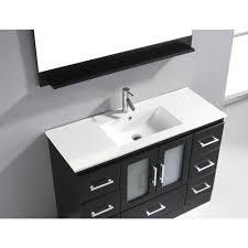 virtu usa zola 48 single sink bathroom vanity espresso best