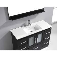 virtu usa zola 48 single sink bathroom vanity espresso best