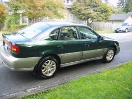 green subaru 2001 subaru outback sedan awd auto sales