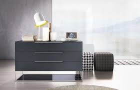 Modern Furniture Dressers by Bedroom Malibu Three Drawered Black Mirrored Dresser Wonderful