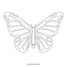 monarch butterfly template free clip arts sanyangfrp