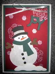 almost wordless wednesday handmade christmas cards by me