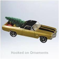 2011 all american truck chevrolet el camino hallmark ornament